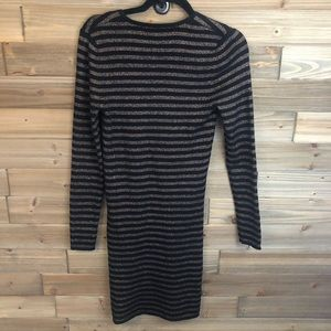 & Other Stories Dresses - ⭐️&other stories black gold sweater dress sizeS ⭐️